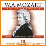 Wolfgang Amadeus Mozart - Mozart - 46 Symphonies - CD1