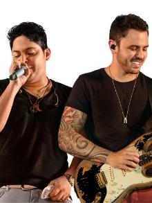 show Jorge e MateusGuaratuba/PR