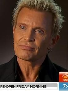 Billy Idol: Entrevista exclusiva em sua passagem pela Austrália