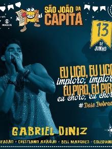 show Gabriel DinizRECIFE/PE
