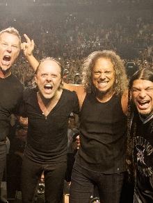 Biografia do Metallica sai em formato de história em quadrinhos