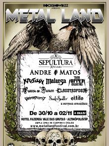 Muita música no 'Metal Land Festival': ingressos à venda
