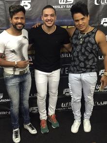 Dupla João Lucas e Marcelo gravam música com Wesley Safadão