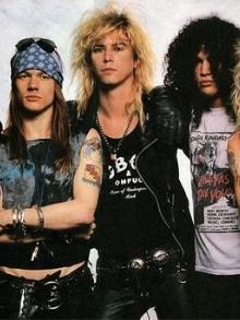 Confirmado: Guns fará show com formação original: Axl, Slash e Duff