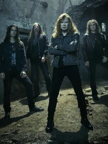 Megadeth fará três shows no Brasil, em agosto