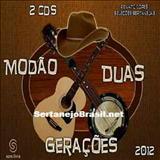 Pista Sertaneja - CD Modão Duas Gerações - 2012