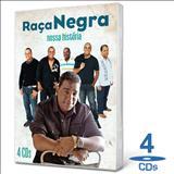 Raça Negra - CDs O Melhor Do Raca Negra + Canta Joven Guarda cd duplo