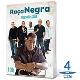 Raça Negra - CDs O Melhor Do Raca Negra Nossa Historia (cds 2)