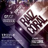Raiz Coral - DVD RAIZ CORAL VENCEDOR