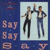 Michael Jackson - Say Say Say (McCartney & Jackson) (single)