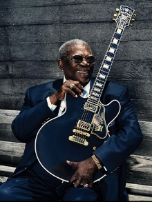 Morre, aos 89 anos, o Rei do Blues 'B.B. King'