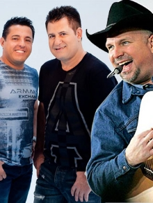 Garth Brooks no Brasil e Bruno e Marrone com música nova