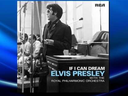 foto: 1 - Elvis Presley e Royal Philharmonic Orchestra em novo disco