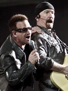 The Edge, do U2, diz que a banda tem 50 músicas para novo álbum