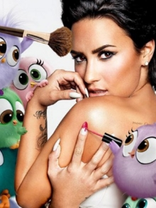 Demi Lovato, Pink e Shakira participam de animações incríveis