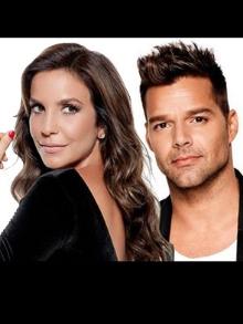 Ricky Martin e Ivete Sangalo cantan juntos em evento beneficente