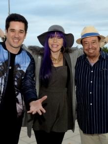 Flausino, Baby do Brasil e Sérgio Mendes gravam música para Olimpíadas