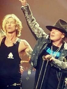 Novo álbum do Guns N' Roses pode estar a caminho