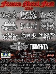 show TormentaFRANCA/SP