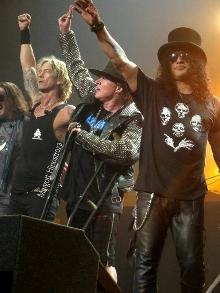 Guns N' Roses com Axl, Slash e Duff vem ao Brasil em novembro