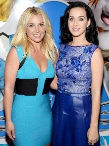 As divas pop Kate Perry e Britney Spears lançam música inédita