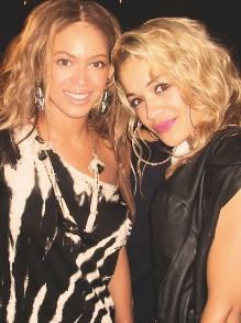 Beyoncé e Rita Ora mandaram muito bem no fim de semana. Veja aqui