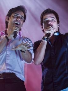show Guilherme e SantiagoPraia Grande/SP