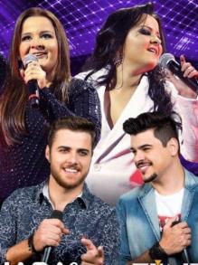 Maiara e Maraísa e Zé Neto e Cristiano lançam músicas do novo DVD