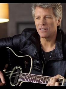 Bon Jovi lança novo clipe. Assista 'Scars On This Guitar'