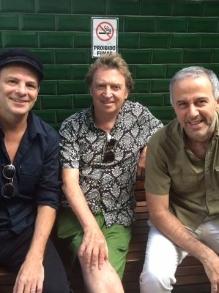 Show com Andy Summers (Police), Rodrigo (Barão) e Barone (Paralamas)