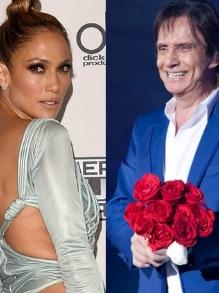 Escute aqui o dueto de Roberto Carlos com a musa Jennifer Lopez