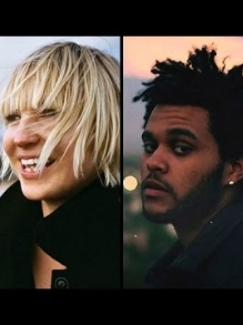 Sia lança divertido lyric vídeo e The Weeknd libera clipe