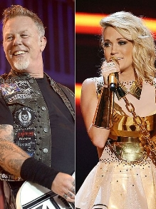 Grammy confirma John Kegend, Metallica, Carrie Underwood e Keith Urban