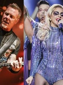 Vai rolar um 'dueto' de Lady Gaga com o Metallica no Grammy