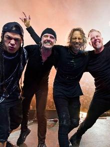 Nova parceria Metallica e Lady Gaga parece que não vai rolar