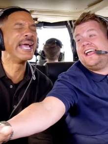Will Smith relembra carreira de rapper e canta muito no Carpool Karaoke