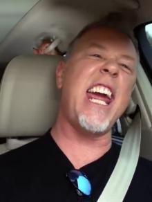 Tem mais trailer do Metallica brincando de karaokê