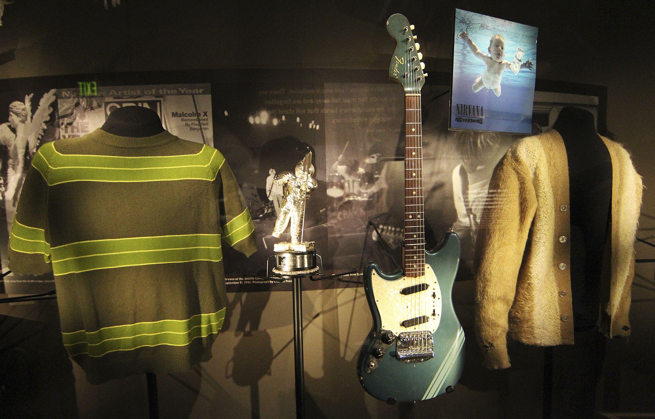 foto: 2 - Exposição sobre o Nirvana em SP começa dia 12 de setembro