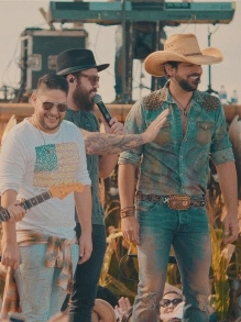Fernando e Sorocaba liberam clipe de parceria com Jorge e Mateus