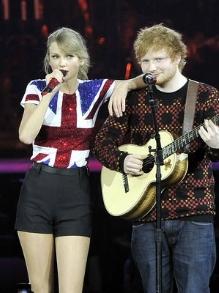 Taylor Swift apresenta seu novo disco e faz dueto com Ed Sheeran