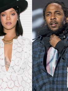 Rihanna canta 'Loyalty' ao vivo com Kendrick Lamar em evento