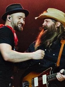 Justin Timberlake libera clipe com cantor country Chris Stapleton