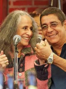 Zeca Pagodinho e Maria Bethânia saem em turnê pelo Basil. Confira aqui