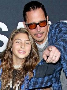 Dia dos pais: Toni, filha de Chris Cornell, fez uma linda homenagem ao pai