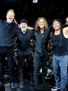 Metallica ganha prêmio da música e doa todo o valor para a caridade