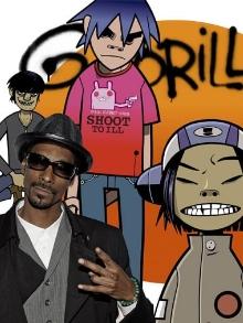 Gorillaz libera clipe e música nova com Snoop Dogg