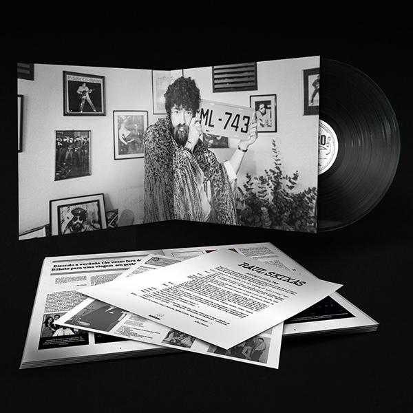 foto: 1 - Sai edição de luxo do álbum Metrô Linha 743, do Raul Seixas