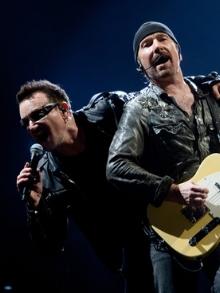 Bono recupera voz e segue turnê com o U2