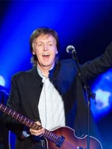 Paul McCartney estreia nova turnê e faz transmissão ao vivo