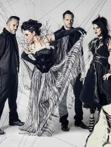 Evanescence libera mais um clipe do novo disco. Assista 'Lacrymosa'